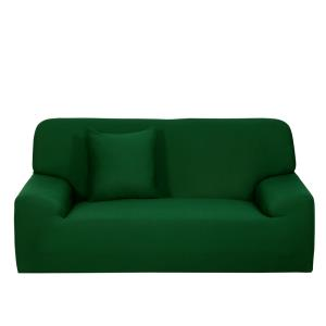 stretch-fabric-green-sofa-cover